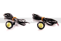 DRL / Reverse 3W LED Pods, Pair, White