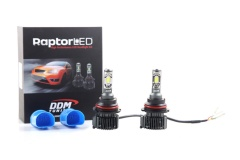 Raptor LED: 9004/9007 H/L LED Headlight Bulbs, Soul CSP, 35W, 6000K 5500LM/PR