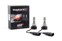 Raptor LED: 9006/9012 LED Headlight, 35W, 5500LM/PR, W, Y