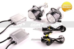 H1 Projectors, V3, 2.5in, Pair w/HID Kit